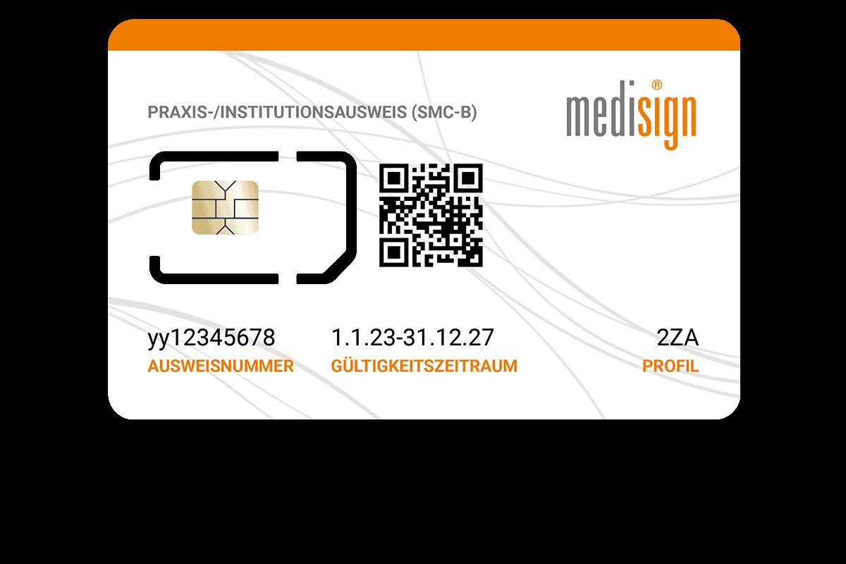 medisign: Praxisausweis (SMC-B) für den Zugang zur Telematikinfrastruktur