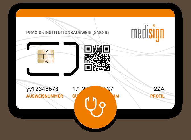 Praxisausweis (SMC-B) für Ärzte